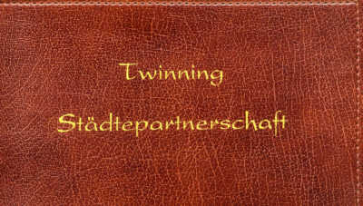Cover of the Twinning Charter folder