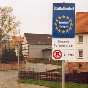 Photo: Entry to one of Stadtallendorf's villages